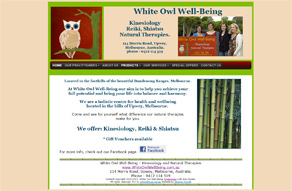 eb site by Stephen Powell  White Owl Well-Being