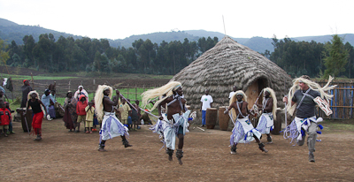 Photo by Stephen Powell Wildlife Artist Photographer Regan gets some air! Rwanda