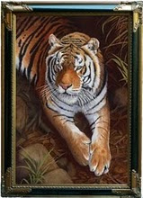 Bengal-Tiger Painting by Stephen Powell