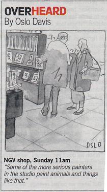 Cartoon by Oslo Davis