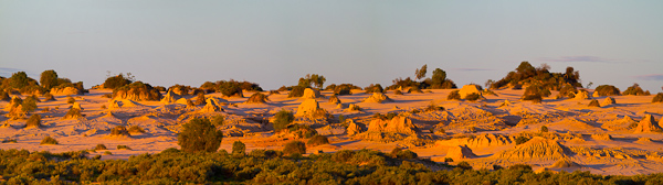 Mungo Dunes Stephen Powell Wildlife Artist Photographer Mungo National Park NSW Australia.